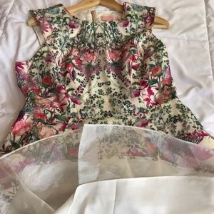 Ted Baker London Dresses - Ted Baker Floral Sleeveless Party Dress Sz 10